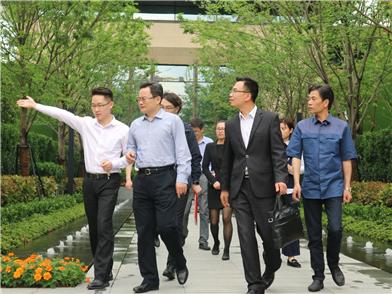 宿州副市长吴宝军率团来祥生参观考察