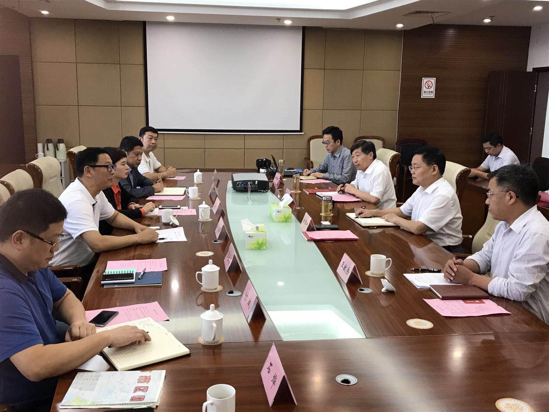 集团总裁赵红卫赴天长市考察项目并拜会天长市政领导