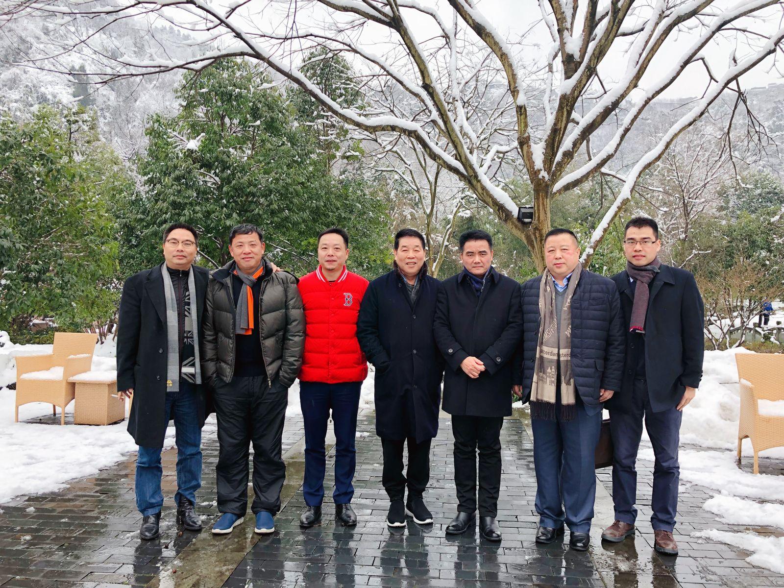 江西高安市市委书记袁和庚一行来祥生参观交流