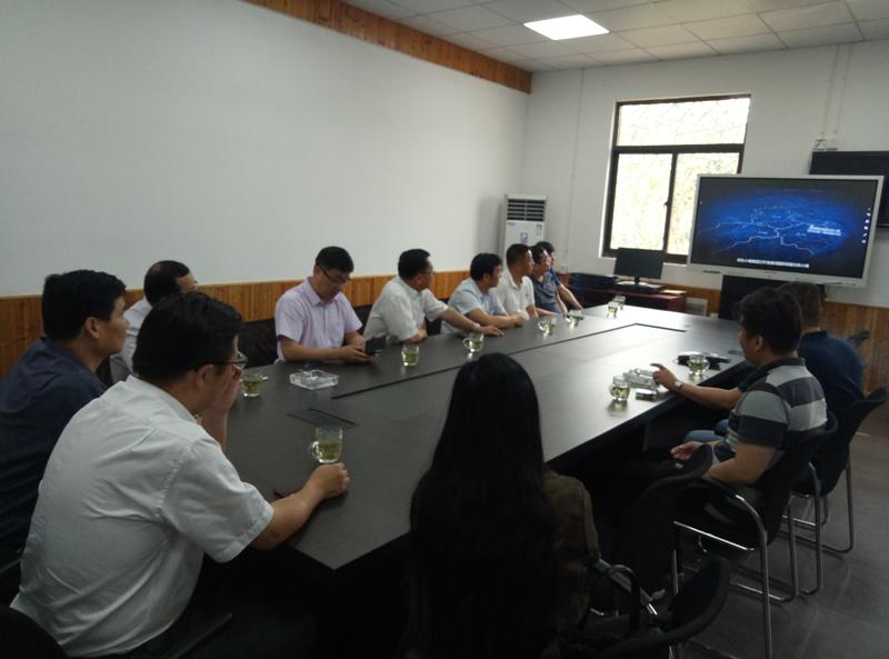 广西壮族自治区贺州市政府领导来祥生小镇集团考察